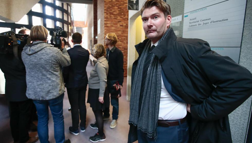 Politiadvokat Christian Hatlo kommer til å sende Majorstuen-drapet over til Statsadvokaten for påtaleavgjørelse så fort som mulig. Foto: Lise Åserud / NTB scanpix.