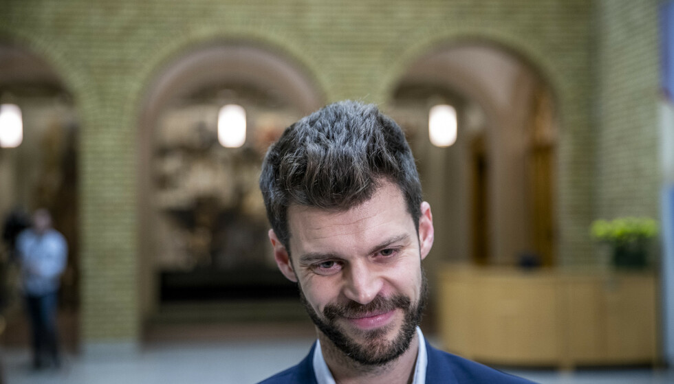 Rødt-leder Bjørnar Moxnes har grunn til å smile. Partiet hans har firedoblet medlemstallet siden den borgerlige regjeringen tiltrådte i 2013. Foto: Stian Lysberg Solum / NTB scanpix