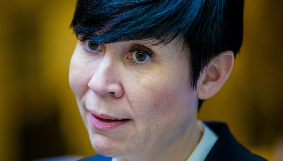 Utenriksminister Ine Eriksen Søreide (H). Foto: Stian Lysberg Solum / NTB scanpix