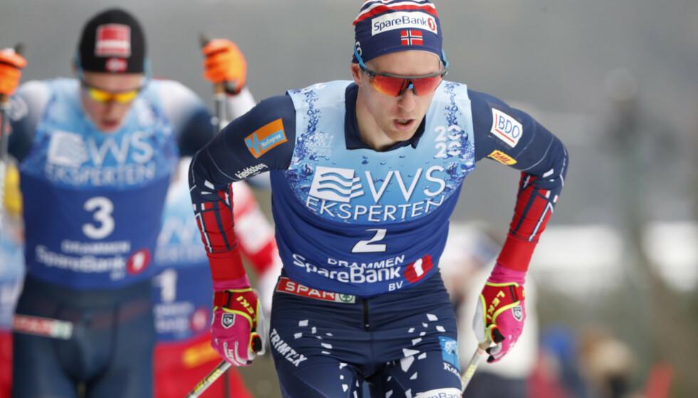 Didrik Tønseth ble vraket og skal ikke gå Ski Tour. Foto: Terje Bendiksby / NTB scanpix.