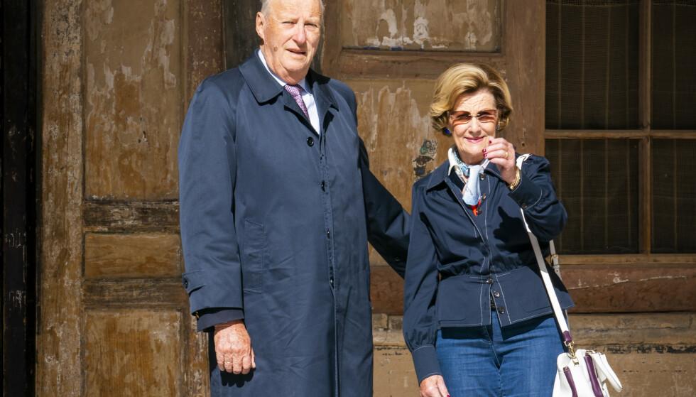 Kong Harald og dronning Sonja, her fotografert under turen til Kina i 2018. Foto: Heiko Junge / NTB scanpix.
