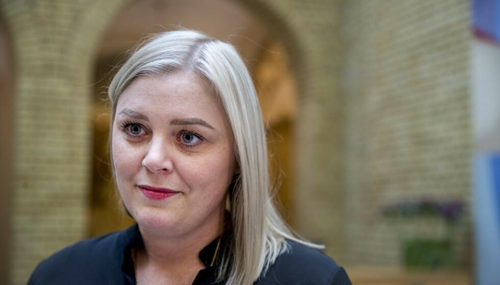 Tina Bru er innstilt som ny nestleder i Høyre. Nå er partiets landsmøte utsatt. Foto: Terje Pedersen / NTB scanpix