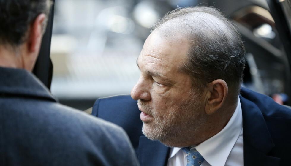 Weinstein ble i februar kjent skyldig i seksuelle overgrep og voldtekt. Foto: John Minchillo/AP/NTB scanpix