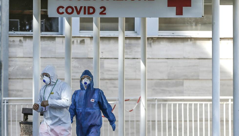 Over 50.000 mennesker er smittet av koronaviruset i Europa, og av disse har over 2.000 mistet livet. Italia (bildet) er hardest rammet. Foto: LaPresse / AP / NTB scanpix