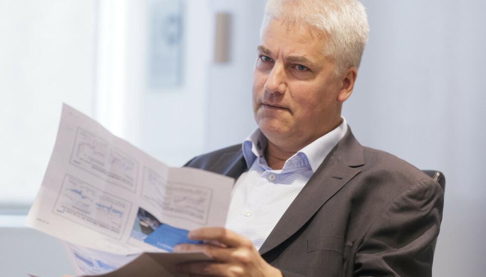 NHOs sjeføkonom Øystein Dørum frykter flere permitteringer i tida som kommer. Foto: Berit Roald / NTB scanpix