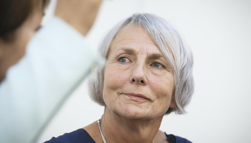 Forbundsleder Anne Finborud i Skolenes landsforbund vil ikke gjenåpne skolene. Foto: Heiko Junge / NTB scanpix