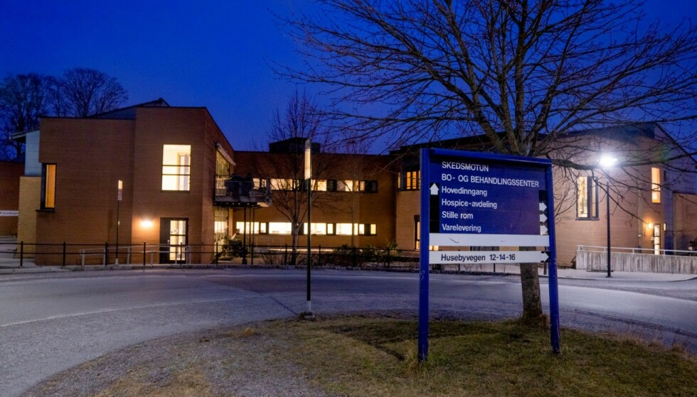 2. påskedag døde en beboer på Skedsmotun bo- og behandlingssenter som hadde fått påvist covid-19-smitte. Totalt har fem beboere på institusjonen dødd etter å ha fått påvist smitte. Foto: Stian Lysberg Solum / NTB scanpix.