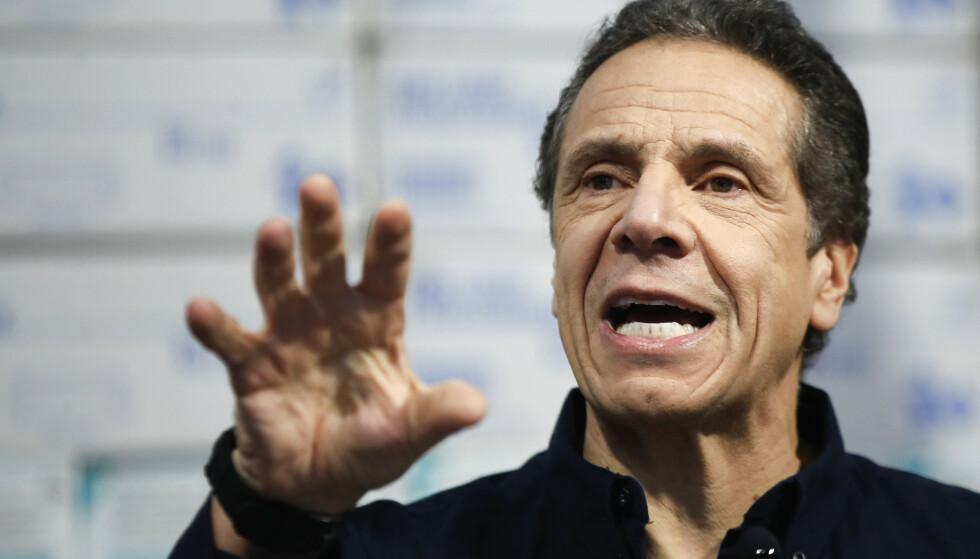 Guvernør Andrew Cuomo i New York. (Foto: John Minchillo/AP/NTB scanpix)