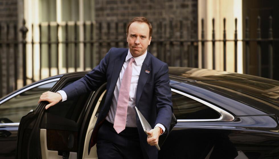 Storbritannias helseminister Matt Hancock sier noen barn har dødd av et sjeldent betennelsessyndrom som han frykter har forbindelse til koronaviruset. Foto: AP / NTB scanpix