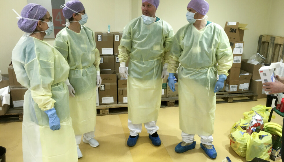 Det norske helseteamet har bistått på hovedsykehuset Bolognini I Seriate, som ligger utenfor Bergamo i Lombardia-regionen i Nord-Italia. Foto: NOR Emergency Medical Team/DSB/NTB Scanpix