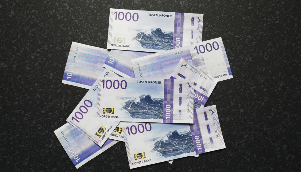 Oslo 20191112.  Torsdag lanserer Norges Bank den nye 1000-kroneseddelen. Foto: Ole Berg-Rusten / NTB scanpix