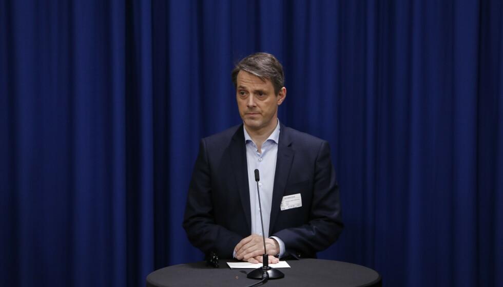 Administrerende direktør Ivar Horneland Kristensen i Virke mener grensen på 50 personer på offentlige arrangementer er for lav. Foto: Ole Berg-Rusten / NTB scanpix