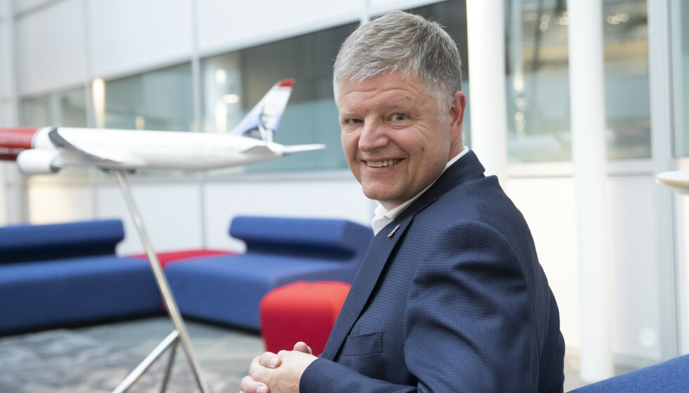 Administerende direktør Jacob Schram i til det kriserammede flyselskapet Norwegian. Foto: Terje Bendiksby / NTB scanpix