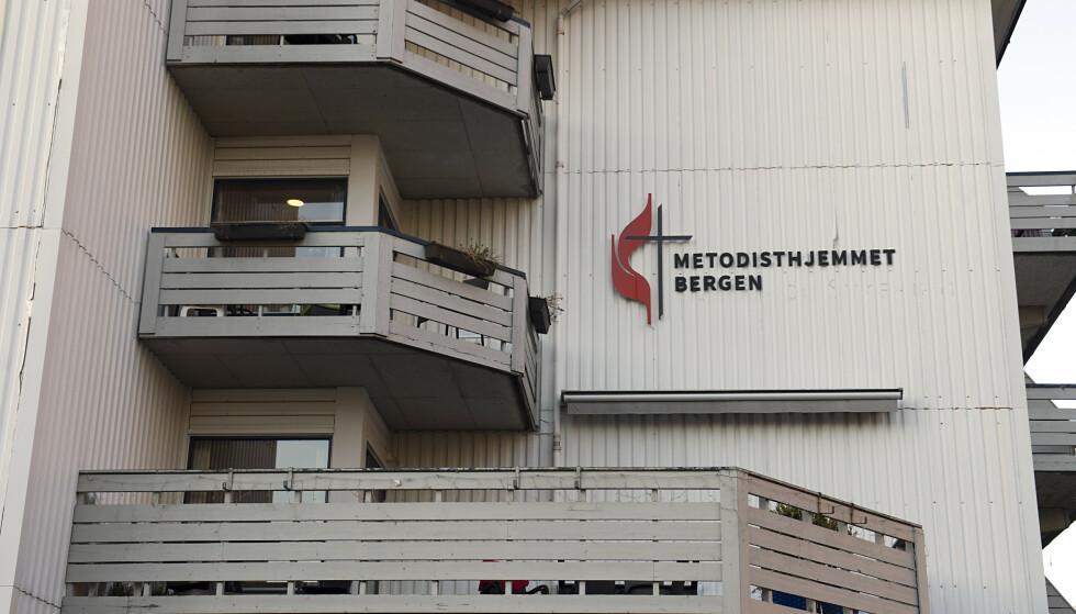 18 av Bergens 35 coronadødsfall fant sted på Metodisthjemmet som har 46 beboere. Foto: Marit Hommedal / NTB scanpix
