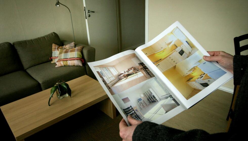 SSB ser for seg lave renter og økte boligpriser de neste årene. Foto: Jarl Fr. Erichsen / NTB scanpix