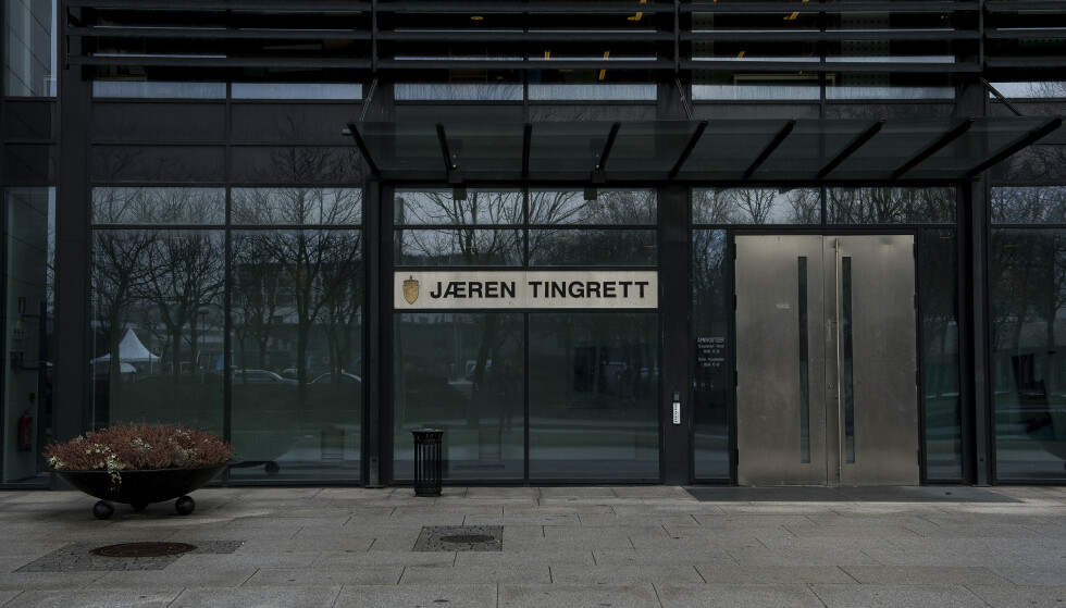 En ung mann er i Jæren tingrett dømt til fire og et halvt års fengsel for å ha hatt sex med en mindreårig jente over flere år. Foto: Carina Johansen / NTB scanpix