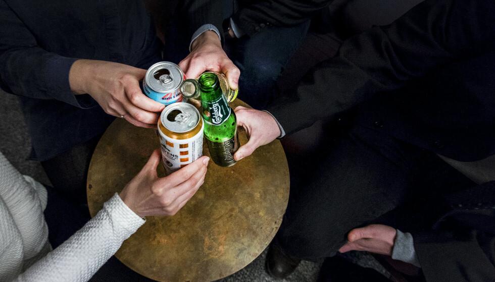 – De aller fleste har ikke endret sitt alkoholkonsum. Og i den grad det er endret, oppgir flere lavere enn høyere konsum, sier seniorrådgiver Nora Clausen i Opinion. Illustrasjonsfoto: Foto: Gorm Kallestad / NTB scanpix