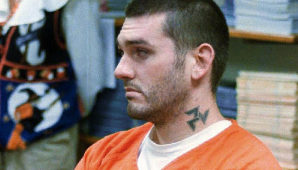 Daniel Lewis Lee skal etter planen henrettes med giftsprøyte 13. juli. Lee ble i 1999 dømt til døden for drapet på to voksne og ett barn. Bildet er fra 1997. Foto: Dan Pierce / The Courier via AP / NTB scanpix