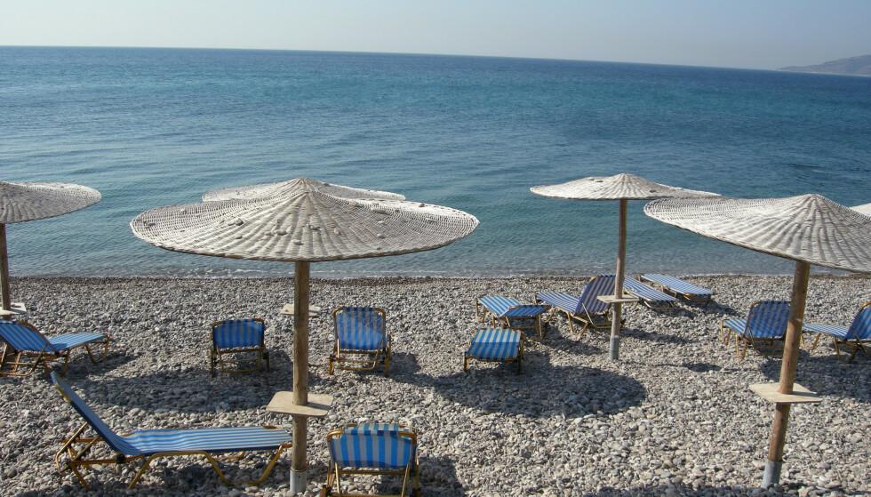 Chios i Hellas kan bli blant stedene som nordmenn kan dra på ferie til uten å pådra seg karantene fra 15. juli. Illustrasjonsfoto: Solveig Vikene / NTB scanpix