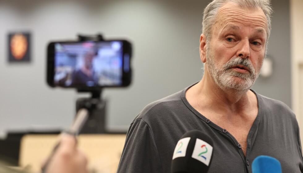 Eirik Jensen under fengslingsmøtet i Oslo tingrett 16. juli. Foto: Geir Olsen / NTB scanpix