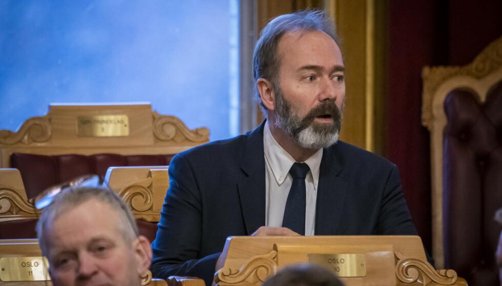Trond Giske er innstilt som ny fylkesleder i Trøndelag Arbeiderparti. Foto: Heiko Junge / NTB scanpix