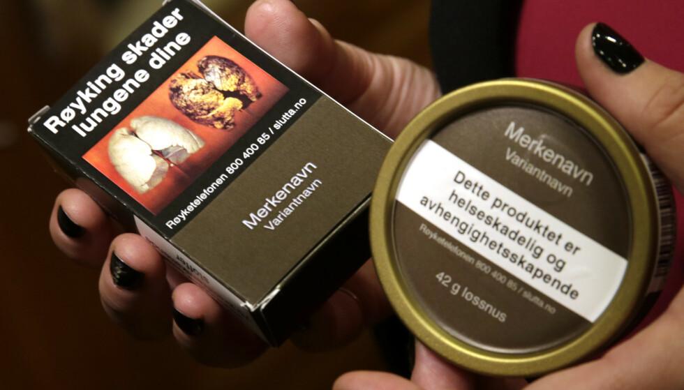 Salg av snus og tobakk har skutt i været i Norge i coronaperioden, spesielt i grensenære og befolkningstette områder. Illustrasjonsfoto: Vidar Ruud / NTB scanpix