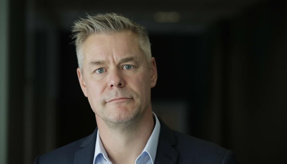 Forhandlingsleder i Parat Lars Petter Larsen. 420 vektere i Arbeidsmandsforbundet gr ut i streik klokka 12 onsdag. Foto: Vidar Ruud / NTB