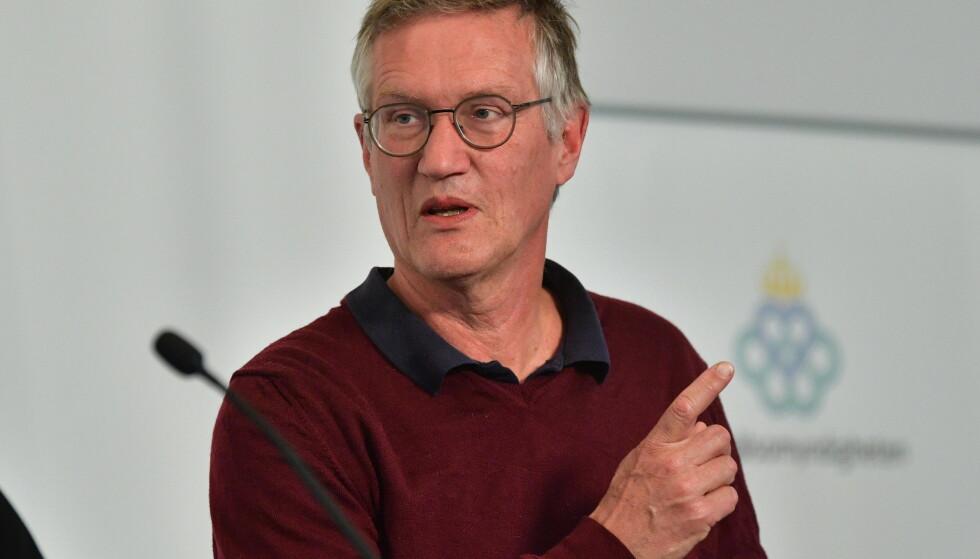 Sveriges statsepidemiolog Anders Tegnell tror lav influensadødelighet sist vinter bidro til at så mange er døde etter å ha blitt smittet av koronaviruset. Foto: TT / NTB
