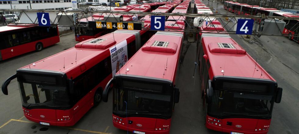 3.800 bussjåfører streikeklare – hele Østlandet kan bli rammet