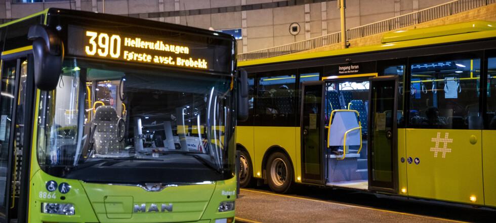 3.800 bussjåfører streiker i Oslo og Viken
