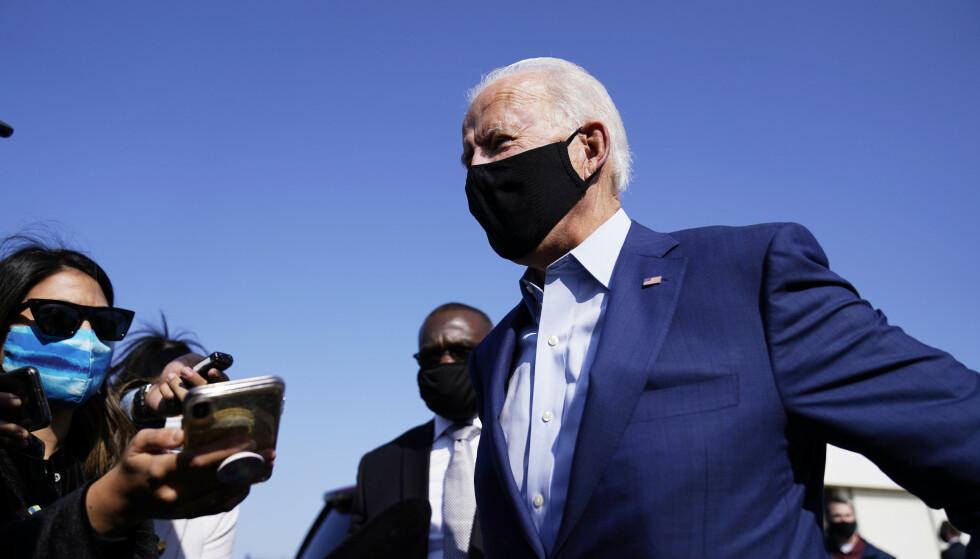Presidentens utfordrer Joe Biden kjemper for å beholde forspranget. Natt til onsdag møter han Trump til den første av tre debatter. Foto: AP /NTB