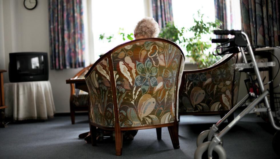 60 millioner kroner er satt av til å arbeide mot ensomhet og isolasjon blant eldre under koronapandemien. Illustrasjonsfoto: Frank May / NTB