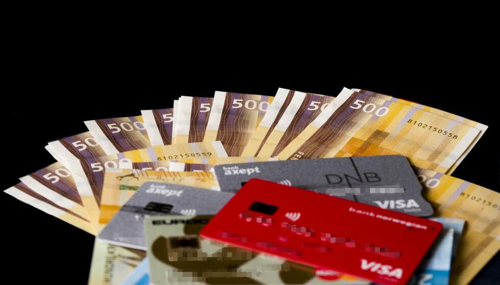 En rekke poster på statsbudsjettet skal gi folk skattelette og lavere avgifter. Illustrasjonsfoto: Terje Pedersen / NTB