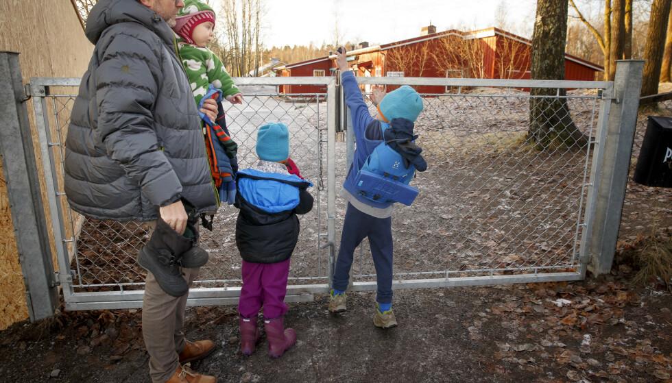 Barnetrygden økes fra neste år av. Foto: Heiko Junge / NTB.