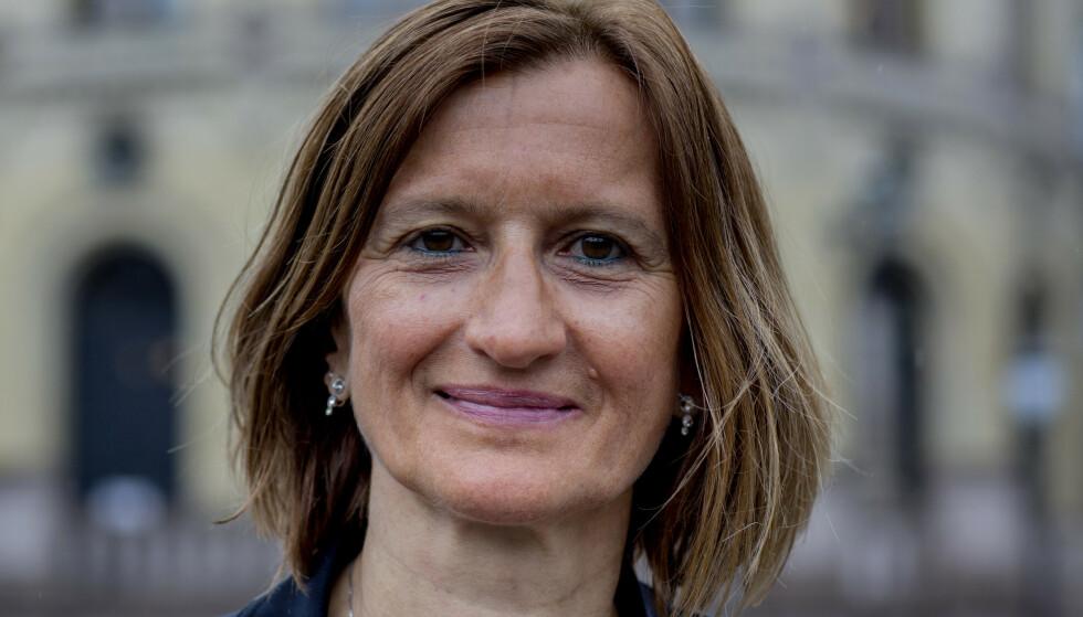 Stortingsdirektør Marianne Andreassen sier gjennomgangen etter datainnbruddet er ferdig. Saken er fremdeles under etterforskning. Foto: Cornelius Poppe / NTB
