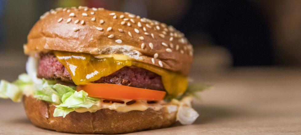 Skal finne ut om dette kan kalles en burger