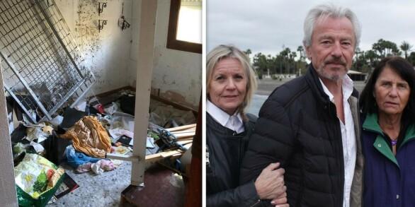Image: Familien fikk tilbake okkupert feriehus: - Det er verre enn vi fryktet