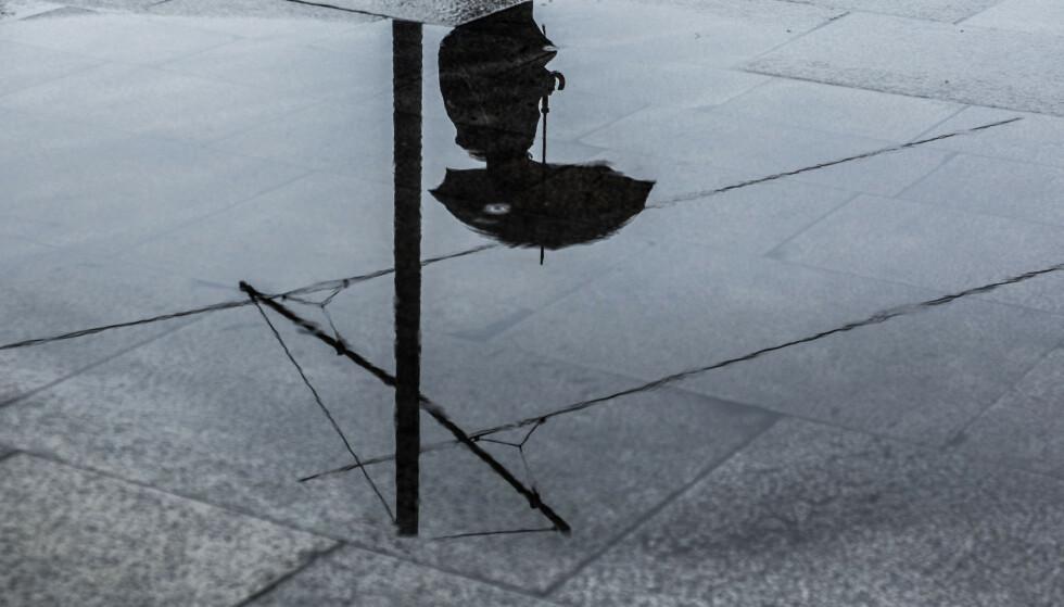 Det har kommet mye regn i Oslo i oktober. Foto: Mariam Butt / NTB
