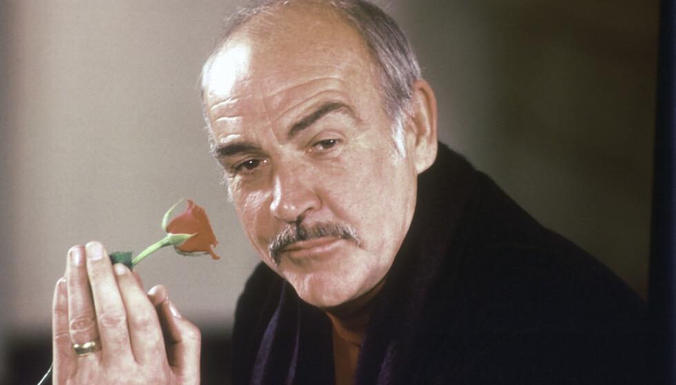 Den skotske skuespilleren Sean Connery er død, 90 år gammel. Her fra 1987 i forbindelse med filmen «I rosens navn». Foto: Gerald Penny / AP / NTB