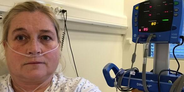 Image: Wendy (47) ligger på isolat med coronavirus: - Det har vært så jævlig