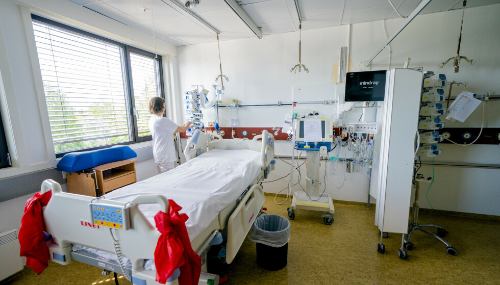 Pasienten var innlagt på en sengepost ved et lokalsykehus. Illustrasjonsfoto: Stian Lysberg Solum / NTB