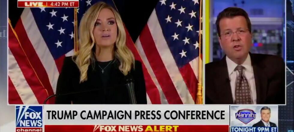 Fox News kuttet Trump: - Whoa, whoa, whoa