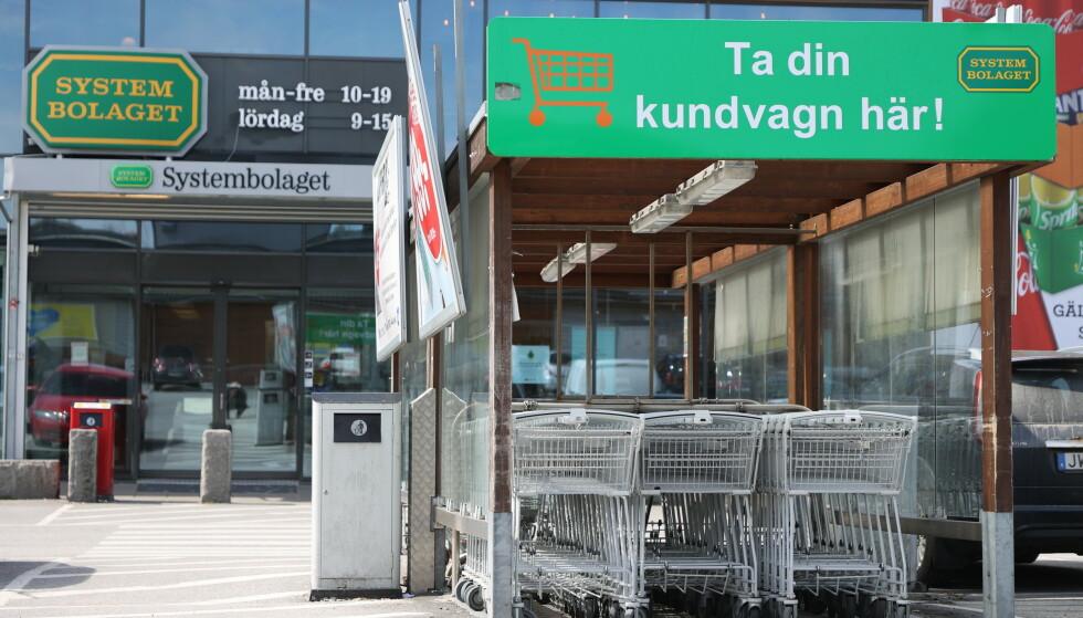 Strömstad er en av kommunene med mest grensehandel fra Norge. Stengte grenser har skapt krisestemning i kommunen. Nå ber svenske myndigheter Norge om en særordning for Strömstad. Foto: Adam Ihse/TT / NTB