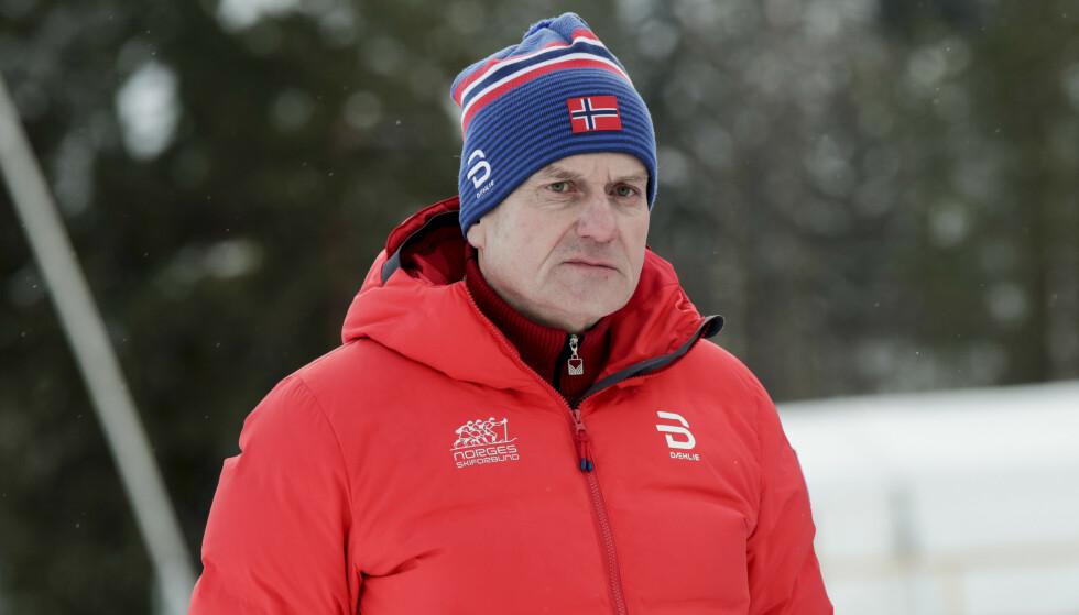 Skipresident Erik Røste og hans styre ber om at verdenscuprennene i Lillehammer utsettes til senere i vinter. Foto: Vidar Ruud / NTB