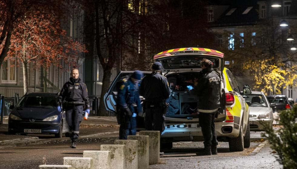 Mandag startet rettssaken mot manne som er tiltalt for å ha drept Cathrine Sand i Trondheim i oktober i fjor. Her fra åstedet på Lademoen. Foto: Ned Alley / NTB