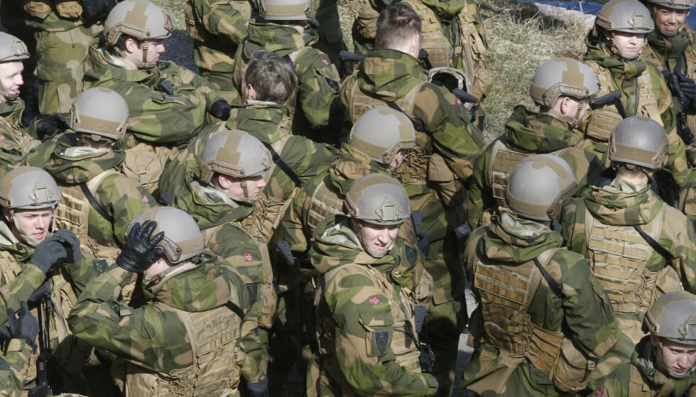 Stortingspolitikerne er i innspurten av forhandlingene om en ny langtidsplan for Forsvaret. Illustrasjonsfoto: Terje Pedersen / NTB