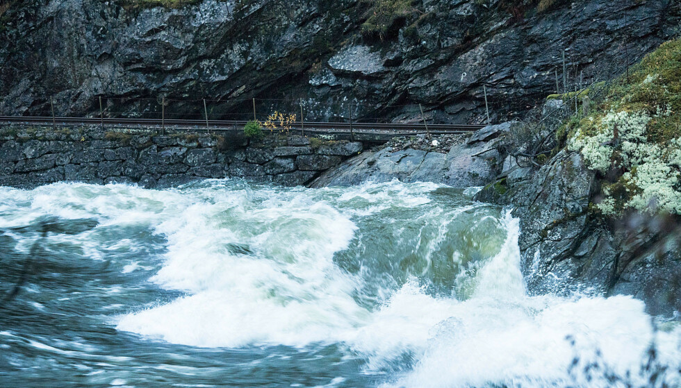 Det er sendt ut farevarsel om flom og skred i Sør-Norge. Foto: Marit Hommedal / NTB