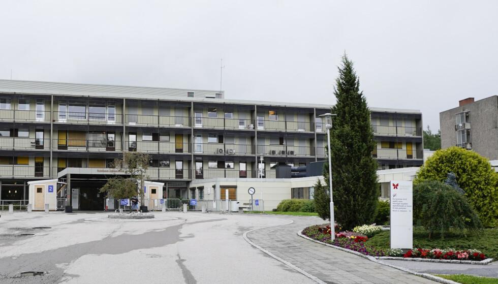 Nytt coronadødsfall ved sykehuset i Østfold. Foto: Lise serud / NTB