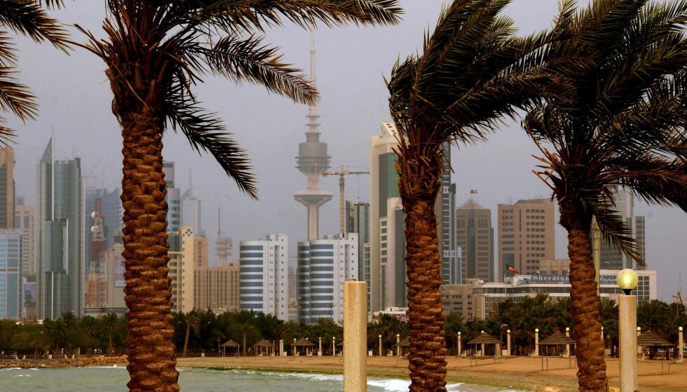 Kuwait risikerer å havne i en gjeldskrise og det er flere tegn som tyder på at det styrtrike landet har store økonomiske problemer. Foto: AP Photo, File/NTB