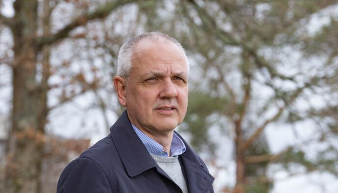 Overlege Preben Aavitsland i Folkehelseinstituttet (FHI) sier at de har jobbet i månedsvis med å forberede det norske vaksinasjonsprogrammet. Foto: Tor Erik Schrøder / NTB